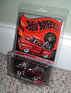 Hot Wheels RLC Holiday Car Custom 56 Ford F 100 w/ Cycle   MOC