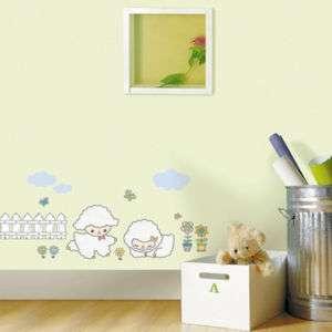 BABY LAMB Nursery Childrens Decor Art DIY Wall Sticker