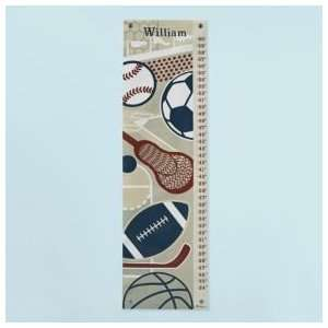 Growth Charts Kids Personalized Sports Growth Chart