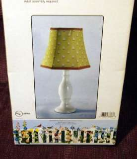 CLAIRE MURRAY BABY TEDDY BEAR PICNIC LAMP & SHADE NIB