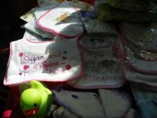 Huge lot Infant Baby Diaper cake Gift Basket Supplies New