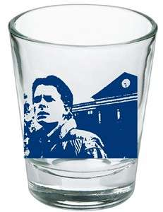 Back To The Future Marty McFly at Clock Tower Shot Glass LIMITED