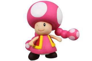 Nintendo Super Mario Bros Toadette Action Figure Girl