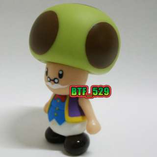 New Super Mario Brothers Action Figure (Old Toad) Toy