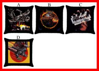 Judas Priest Rock Band Metal Throw Pillow Case #Pick1