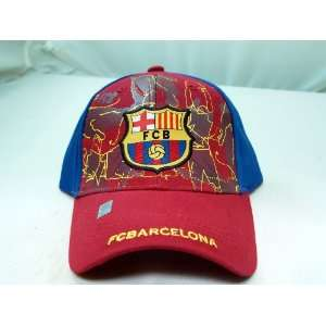 FC BARCELONA OFFICIAL TEAM LOGO CAP / HAT   FCB004 Sports