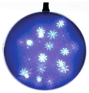 Blue, Battery Operated, Holographic LED Sphere, GKI BETHLEHEM