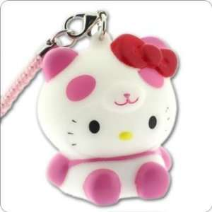 Sanrio Hello Kitty Glowing Light Charm (Panda/Pink) Cell