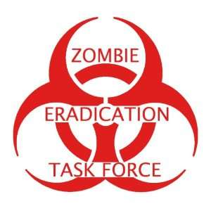 Eradication Task Force Team Biohazard Logo Die Cut Vinyl Decal Sticker