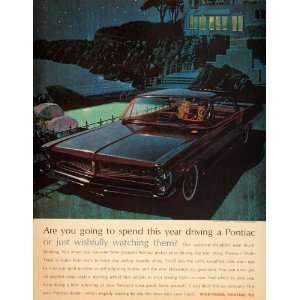 Smoking Pool Art Fitzpatrick   Original Print Ad