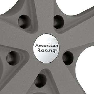 American Racing Authentic Hot Rod Nova Light Grey w/Mach Lip