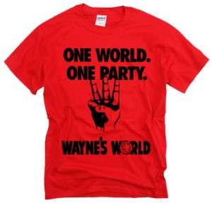 WAYNES WORLD party saturday night live movie t shirt