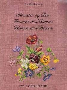 Eva Rosenstand FLOWERS & BERRIES Cross Stitch Book Impo