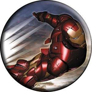 Marvel Iron Man Fly Button B IRN 0005 Toys & Games