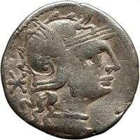 Roman Republic Publius Calpurnius VENUS Roman Coin 133BC