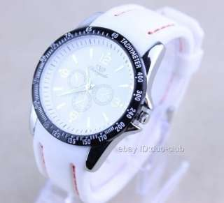 1Pcs CYD Fashion Big Dial Rubber Band Wrist Watch For Boys
