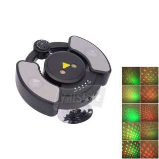 Mini Red & Green Laser Stage lighting With  Player / Speaker / 1GB