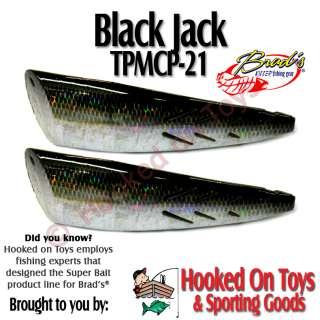 Pack Super Bait Mini Cut Plug 3.0 Black Jack TPMCP 21