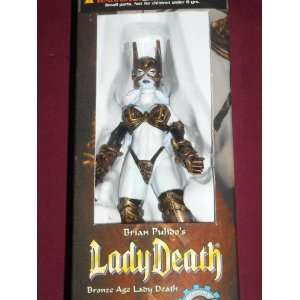 Brian Pulido Bronze Age Lady Death Wizard Toyfare Exclusive Action
