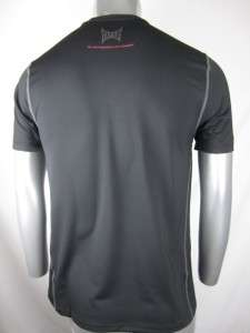 TAPOUT PRO FITTED COMBAT MMA RASHGUARD SHORT SLEEVE BLACK 2XL