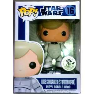 Star Wars POP! Luke Skywalker Stormtrooper Vinyl Bobble