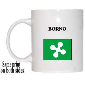 Italy Region, Lombardy   BORNO Mug: Everything Else