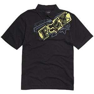 Fox Racing Youth Brazzer Polo Shirt   Small/Black