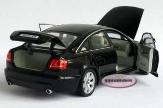 New AUDI A6 124 Alloy Diecast Model Car With Box Black B094
