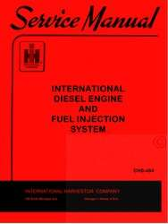 farmall international diesel engine and fuel injection system service