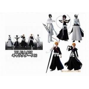 Japanese Anime Bleach 5 Pcs set Figures   4 tall