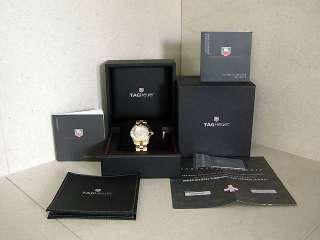 TAG Heuer 2000 Aquaracer Chronometer WN5140.BG0351 18K Solid Gold 229