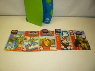 Leap Frog Leapad System 10 Books with Cartridges