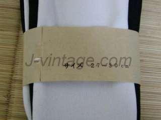 BLACK Japan KIMONO TABI Socks GETA FREE SIZE 27 30cm