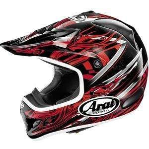 Arai VX Pro III Brisk Helmet   X Small/Red: Automotive