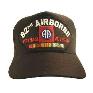 NEW U.S. Army 82nd Airborne Division Vietnam Veteran Cap w/ Ribbons