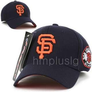 San Francisco Giants Flex Fit Baseball Cap Hat MB BLUE