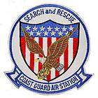 USCG Coast Guard Air Station Search and Rescue 3 in Iron On Patch