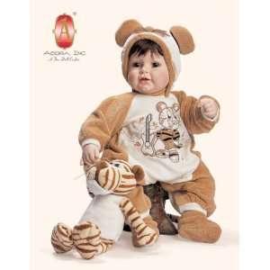Adora Doll 20 Brown hair/brown eyes 20495: Toys & Games