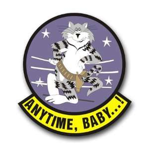 US Navy F 14 Tomcat Squadron Decal Sticker 5.5