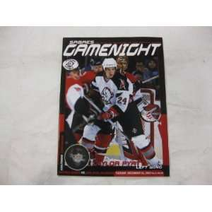 Sabres Gamenight The Official Magazine Of The Buffalo Sabres