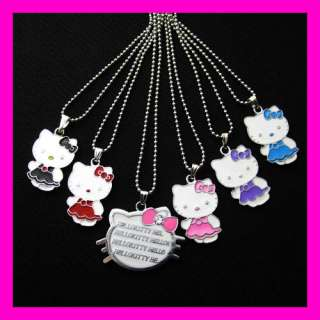HelloKitty little Girl Child Necklace Best Combination Friend Gift