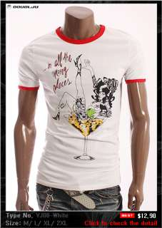doublju1 Mens Short Sleeve T shirts Tee Collection 1