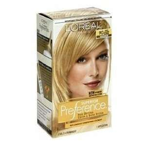 #9G (Warmer) Light Golden Blonde KIT Health & Personal Care