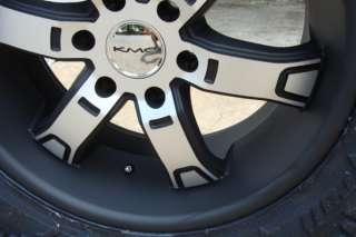 KMC XD Brodie Black Machine 20 Nitto Trail 35x12.50 20
