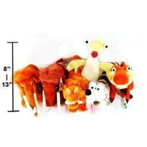 Ice Age 3   Dawn of the Dinosaurs 8   13 (6 Piece) Plush