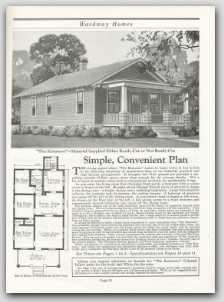1926 Wardway (Montgomery Ward) Homes Catalog on CD