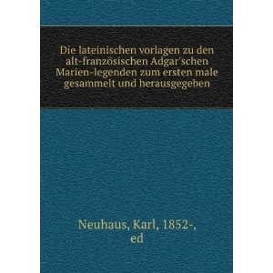male gesammelt und herausgegeben Karl, 1852 , ed Neuhaus Books