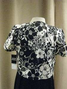 Studio One Perfect for Spring2 Pc Black & White Casual Dress