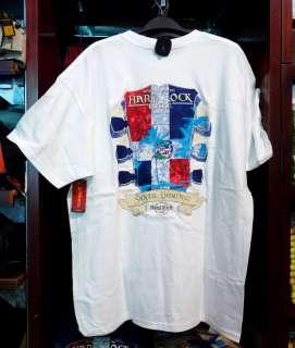 HARD ROCK CAFE Santo Domingo HEADSTOCK FLAG TEE Size XL