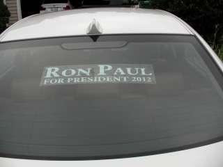 Ron Paul 2012 bumper sticker alternative   vinyl window static clings